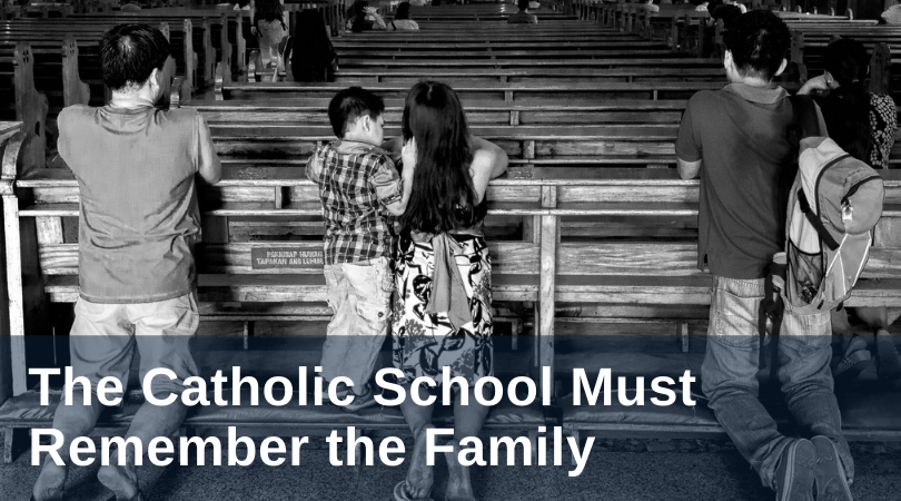 Benz Catholic School and Family title