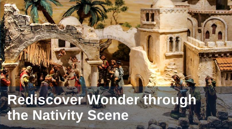 Deehan Nativity Scene title