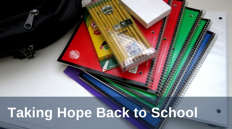 Kilbane Back to School Hope title