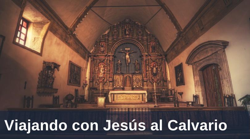 Lopez Caminando con Jesús a Calvary title