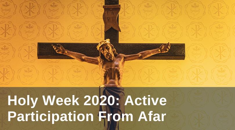 MacMichael Holy Week 2020 title