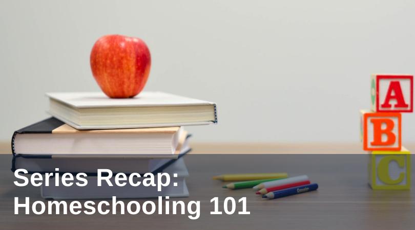 Murphy Homeschooling Recap title