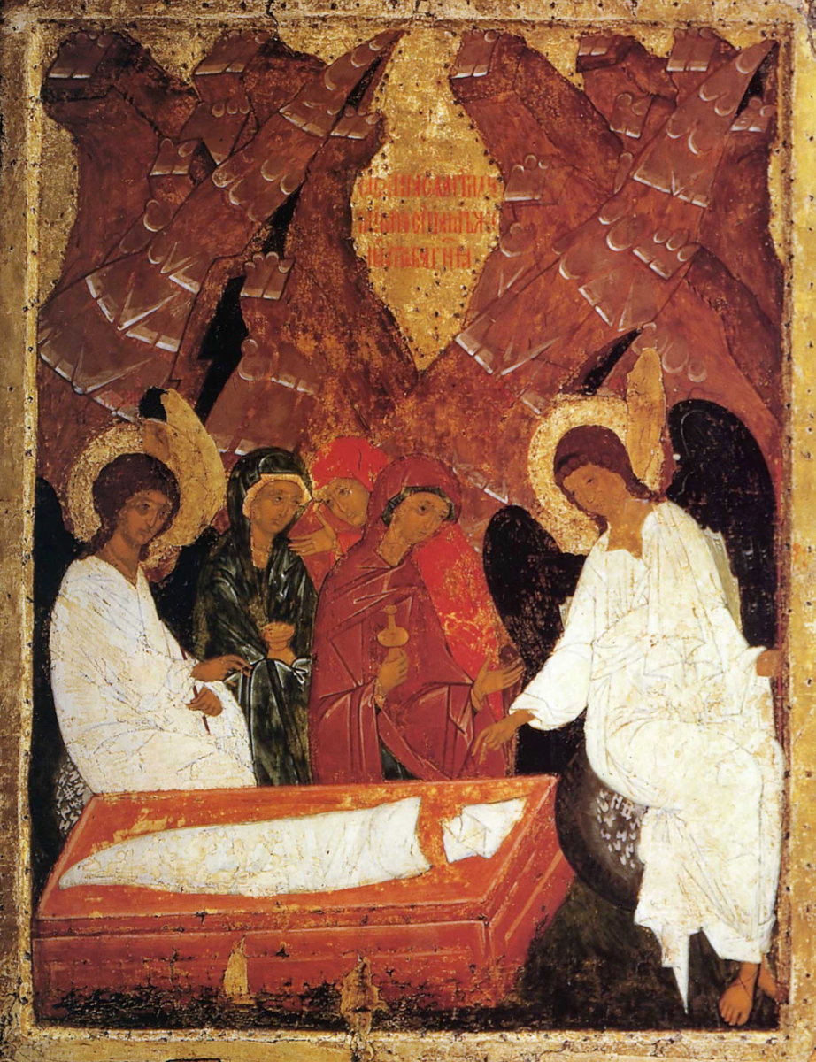 Myrrh-bearing Women at the Tomb