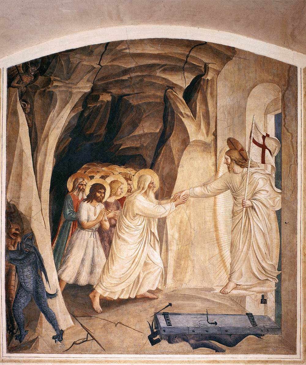Pirtle Holy Week Art Angelico_Christ in Limbo
