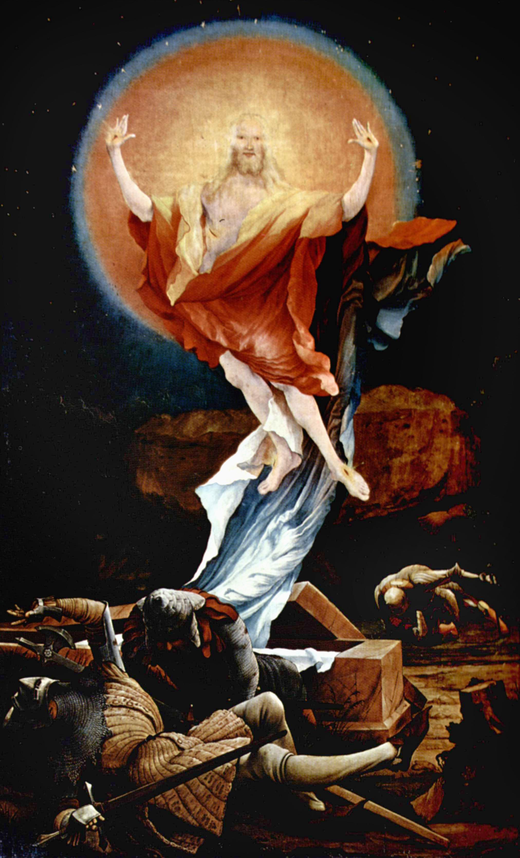 Pirtle Holy Week Art Grunewald_Resurrection