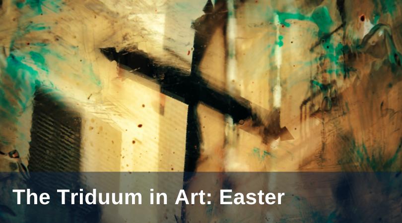 Pirtle Triduum Art Easter Sunday title