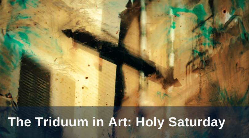 Pirtlel Triduum Art Holy Saturday title