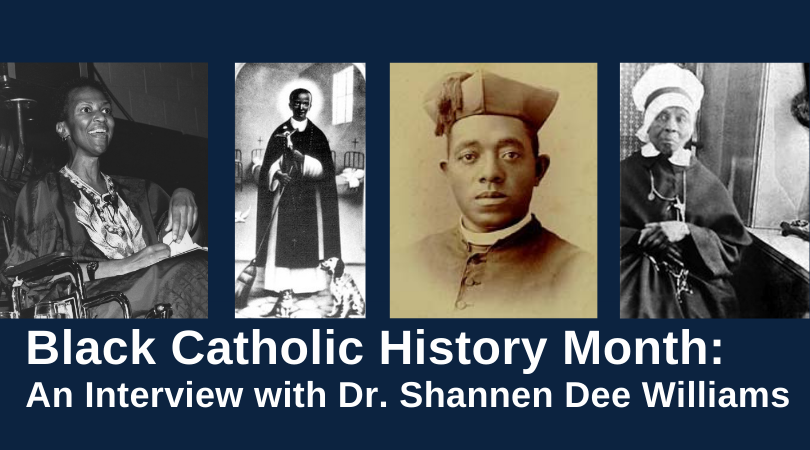 Williams Black Catholic History Collage