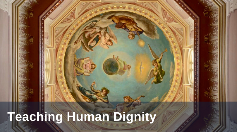 Teaching human dignity