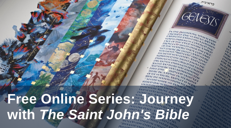 Study Scripture and art with The Saint John's Bible this Lent